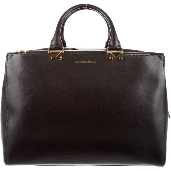 Emporio Armani Pre-owned - Leather mini bag YnMmE