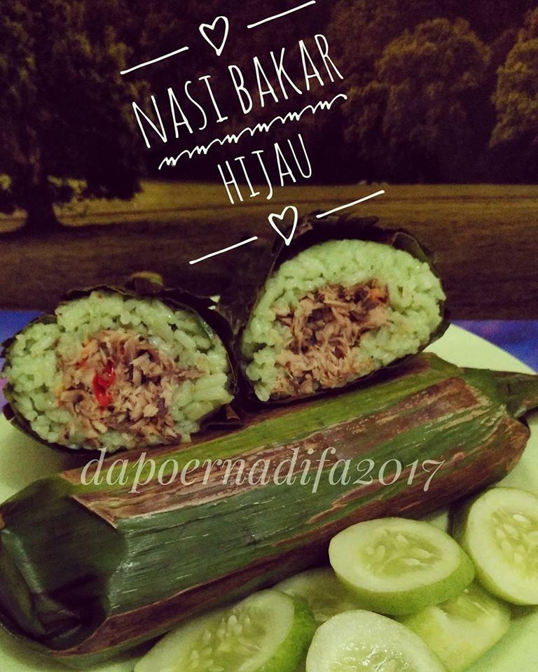 Nasi Bakar Hijau By Yuyun Rachmawati Ii Langsungenak Com Resep Resep Nasi Resep Makanan