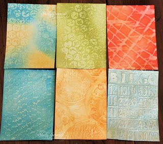 Glue ATC Tutorial for Unruly Paper Arts
