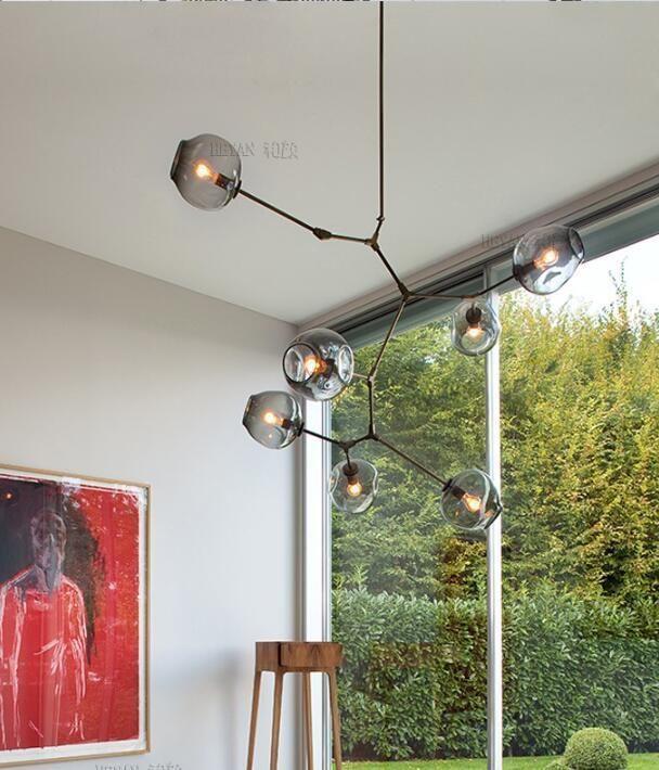 office chandelier lighting. lindsey adelman glass ball branching chandelier light lamp kitchen/cafe/ office in home \u0026 garden, lamps, lighting ceiling fans, chandeliers