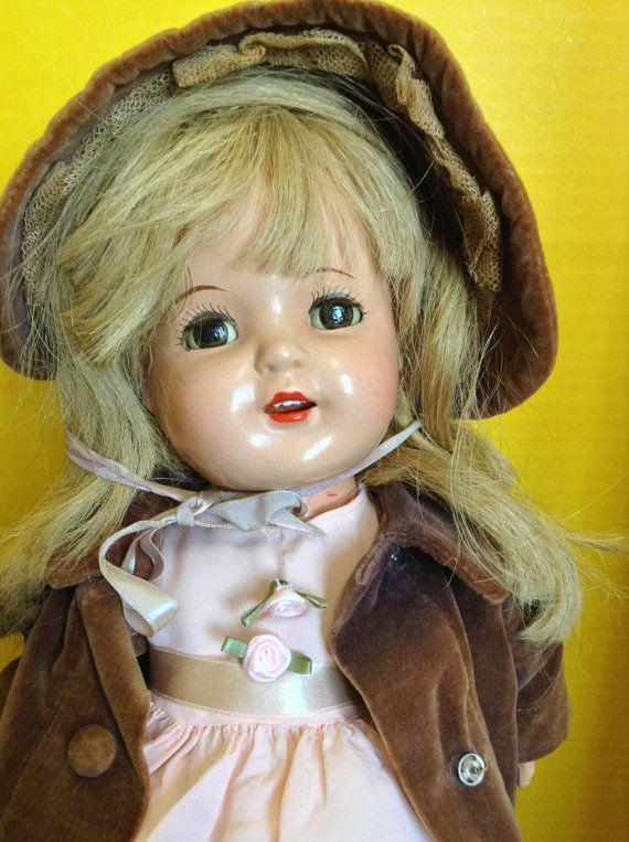 Nancy Composition Doll 18 inches by HelloDollySanJose on Etsy