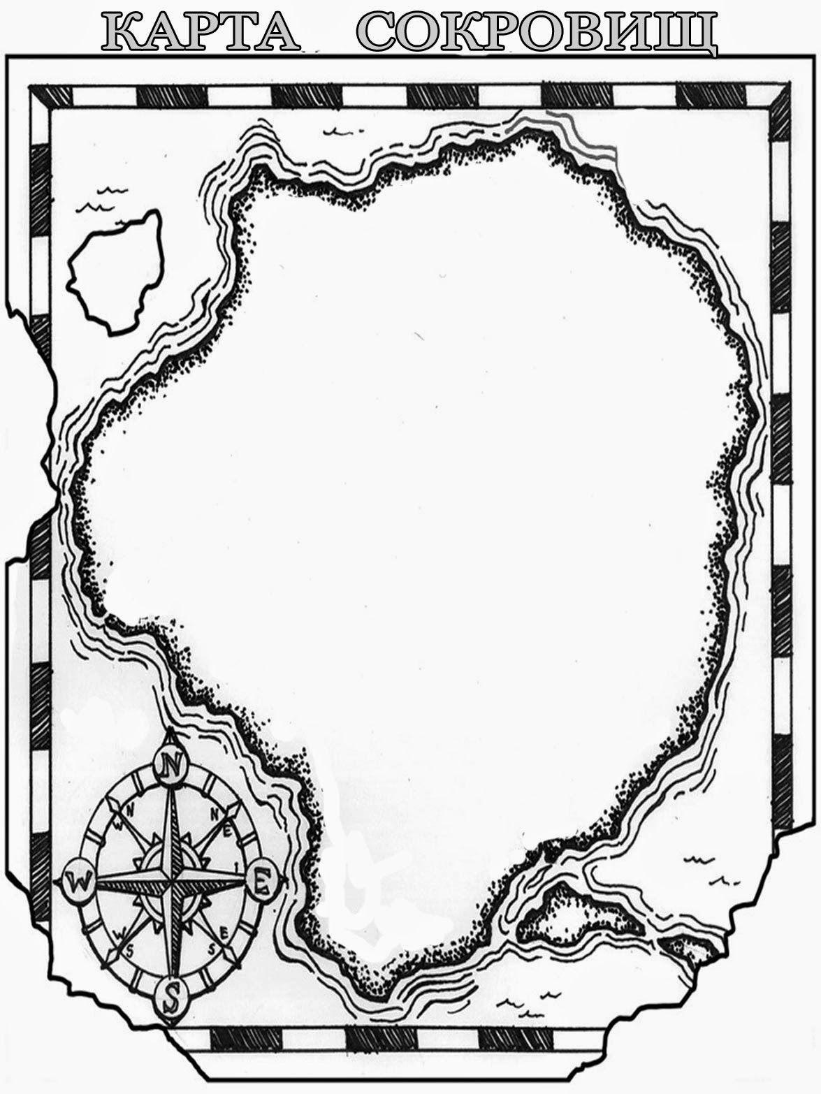 карта сокровищ - Поиск в Google | Pirate_пиратское | Pinterest | Crafts