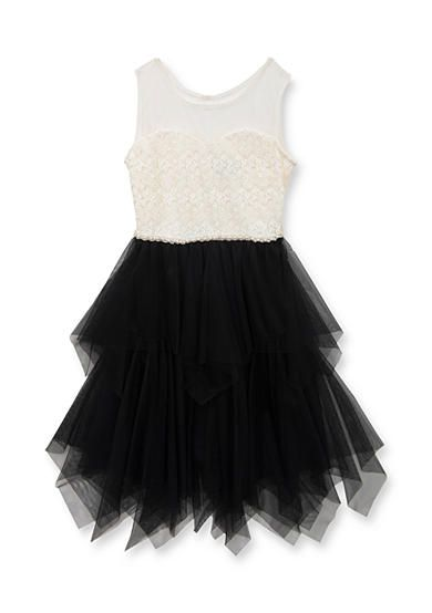 0aa5752584e Tween Diva by Rare Editions Social Cascade Dress Girls 7-16