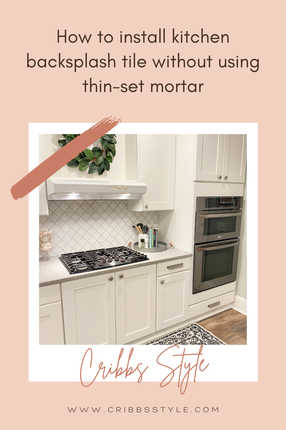 How To Install Kitchen Backsplash Tile Using Adhesive Mat Instead Of Thin Set Mortar In 2021 Kitchen Tiles Backsplash Diy Kitchen Backsplash Backsplash