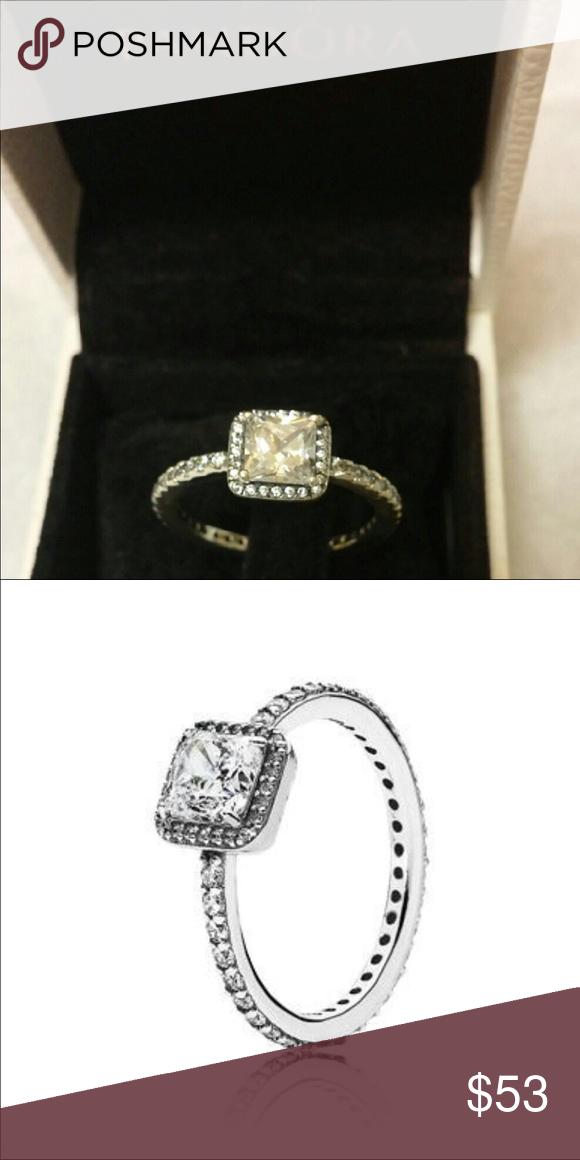 a5a344fb1044b Pandora Timeless Elegance Ring (Size: 54) PRICE FIRM! Size: 7 Brand ...