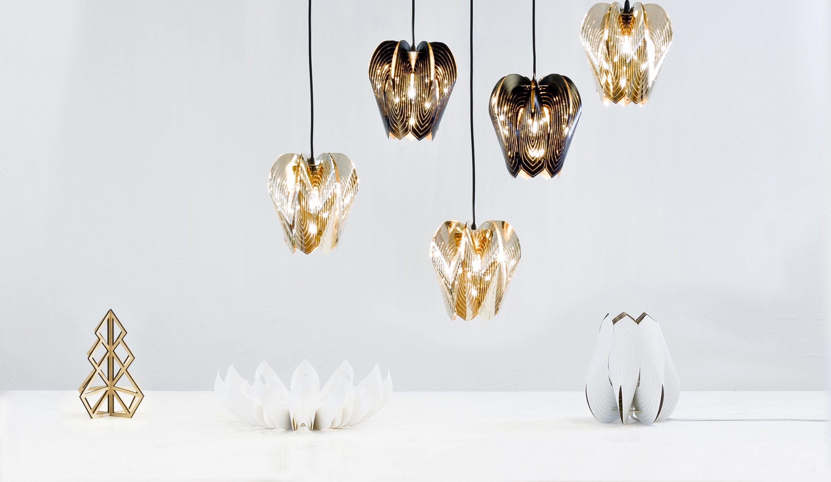Beandliv – Blossom tealight candle holder, Blossom lamp, Petals decorative fruit bowl. #habitare2014 #design #sisustus #messut #helsinki #messukeskus