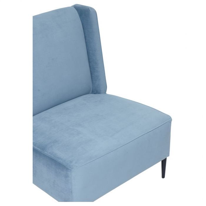 Kidman Slipper Chair Made In Australia Blue Matt Blatt
