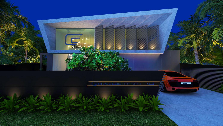 New Chris Clout Design Office sunshine beach modern resort lighting