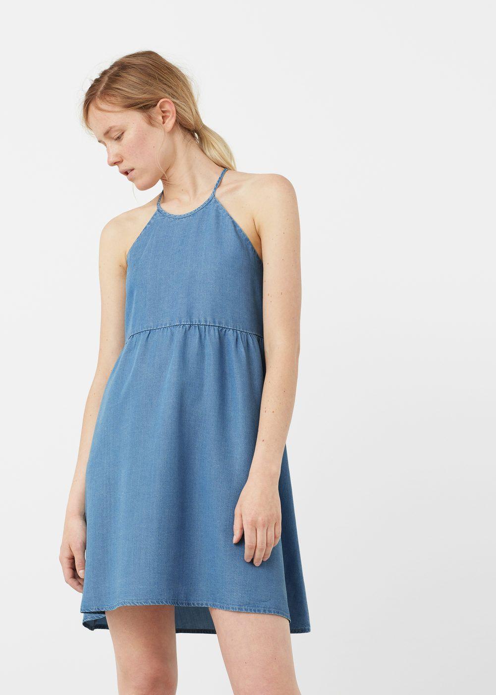 bf403c56acd32 Denim dress - Women   Pinterest   Robe denim, Fibre et Robes