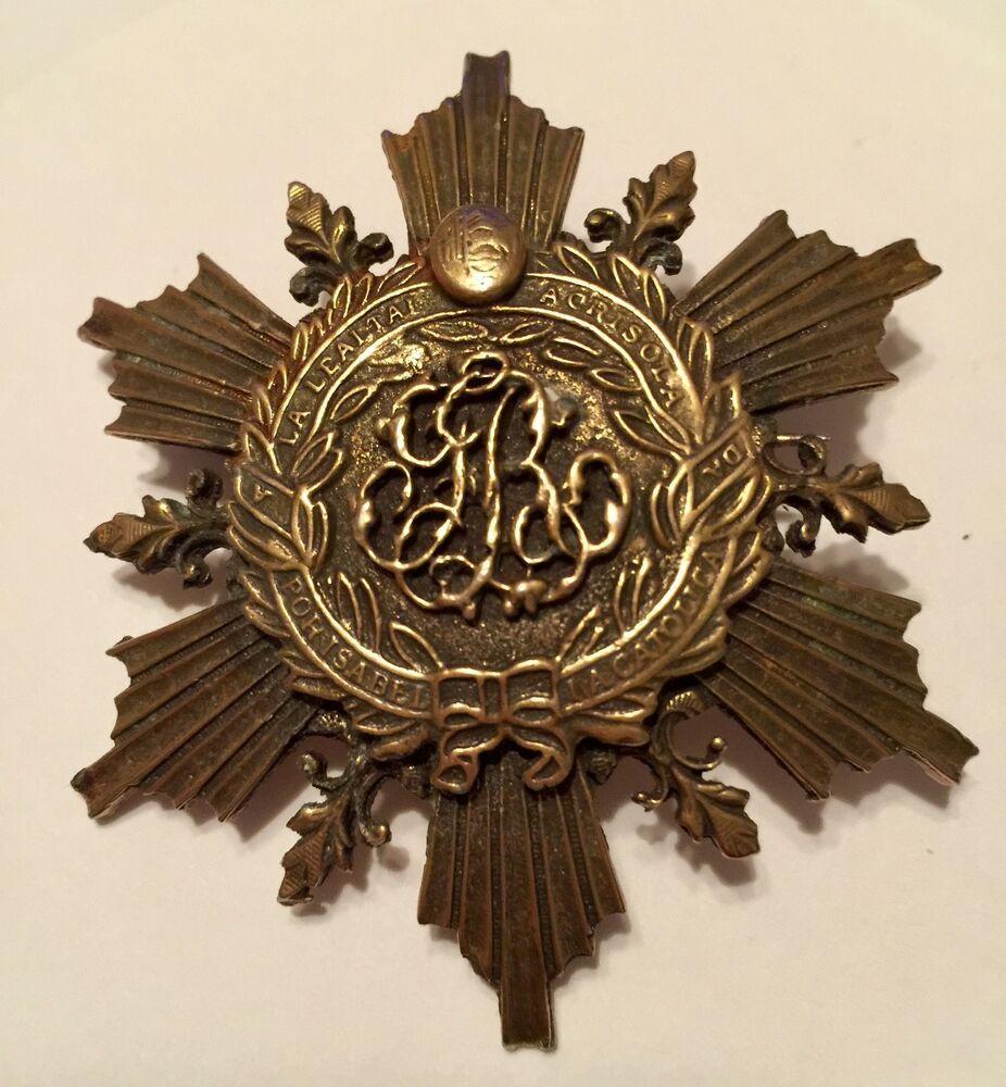Medal Brooch Full Size for Hanging  5  Large Medals