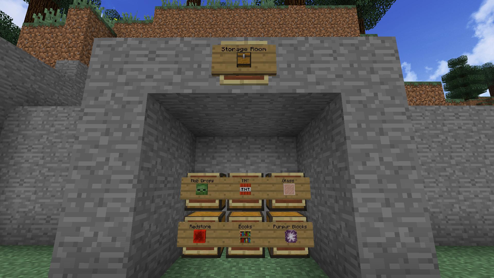 Item frames and signs in Minecraft - Reddit. | Minecraft ...