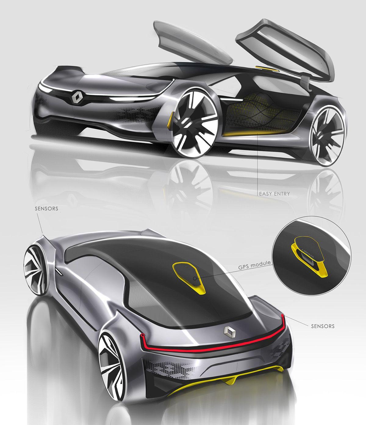 Renault Liberta on Behance   automotive   Pinterest   Behance ...