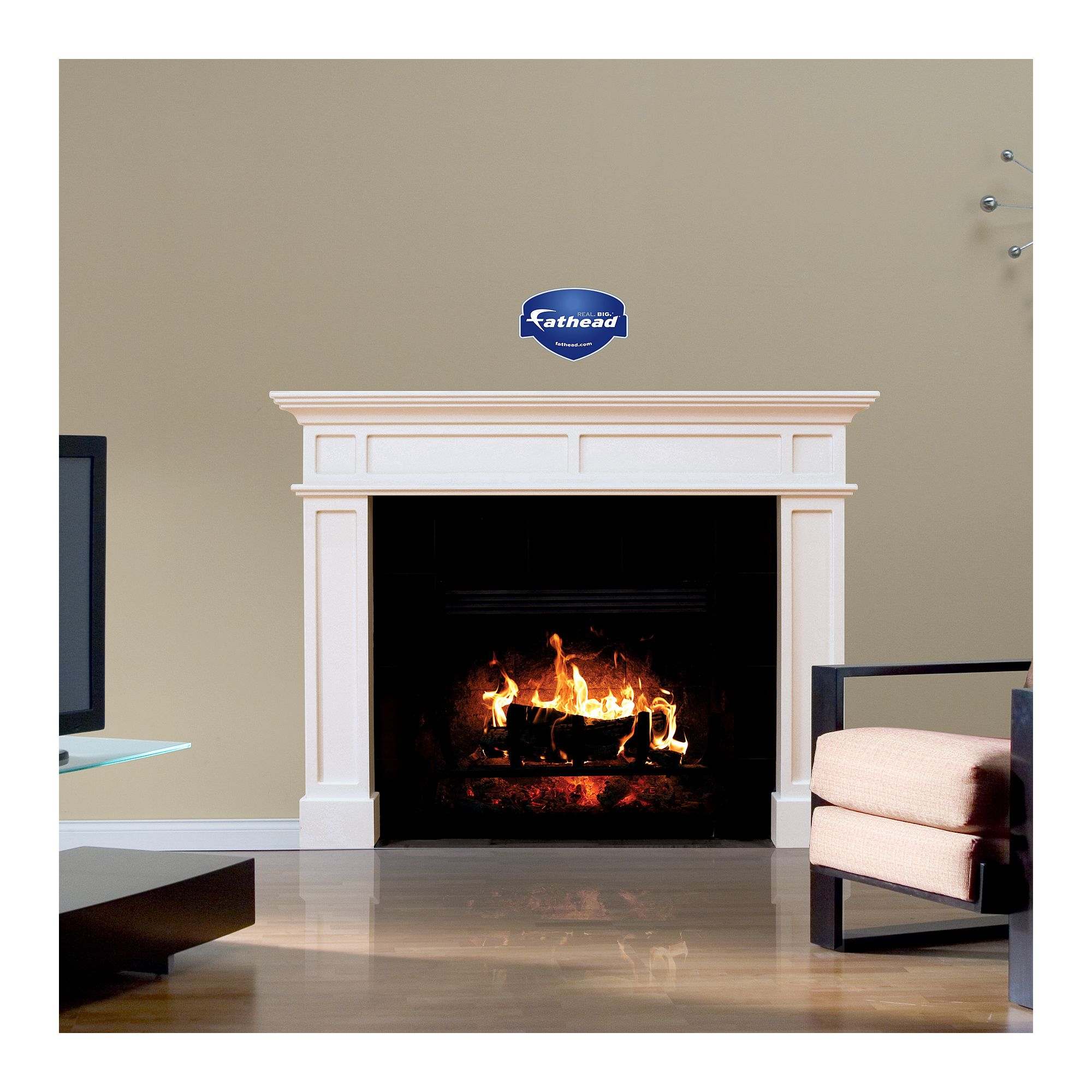 Fireplace Huge Removable Wall Decal Stuff I Plan To Make