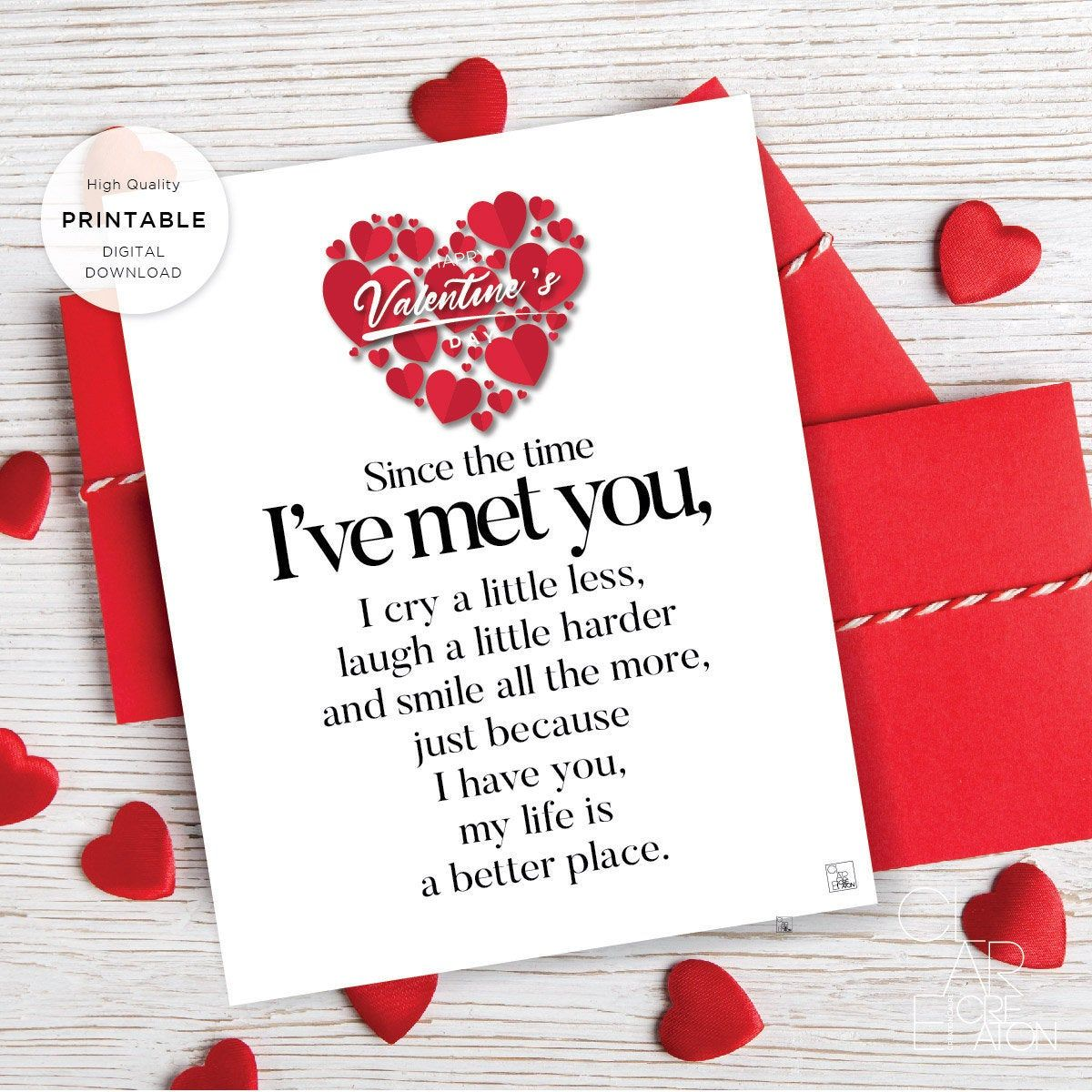 Romantic Card Printable Valentine Card Valentine/'s Day Card Greeting Card INSTANT DOWNLOAD I Love You Love Card Coloring Cards