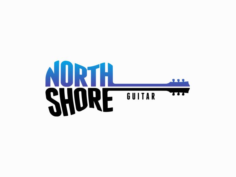 Guitar Shop Logo By Lucian Radu