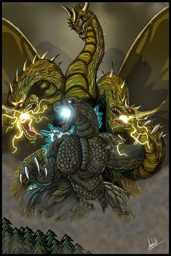 #Kaiju #godzilla #gidorah