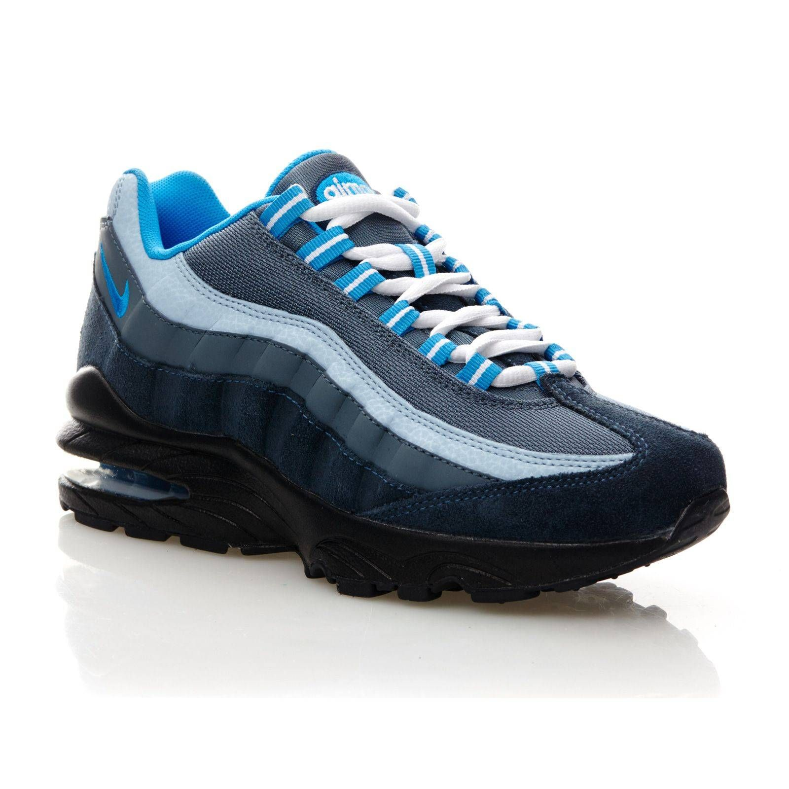 big sale 80591 182b4 ... coupon code air max 95 baskets en cuir mélangé bleu nike ref 2079359  brandalley 45fc3 3fc4a