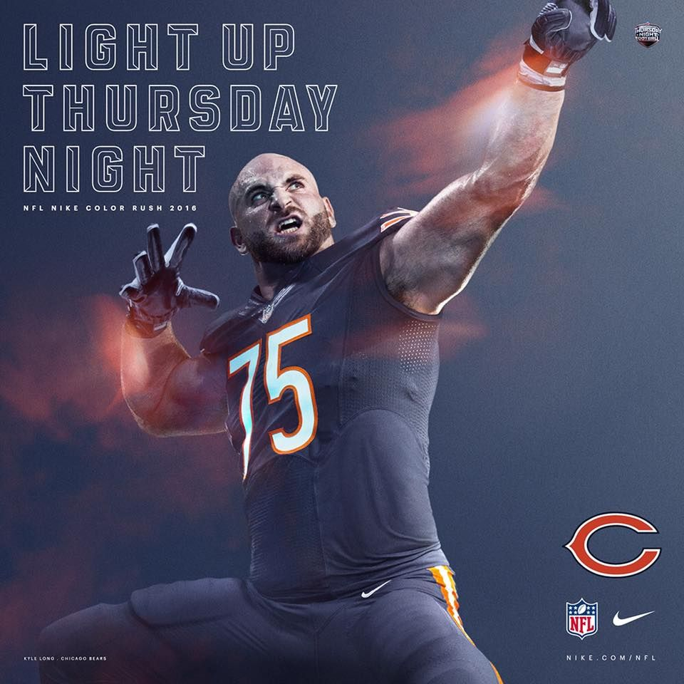 Color Rush 10 20 16 Chicago Sports Teams Nfl Bears Chicago Sports