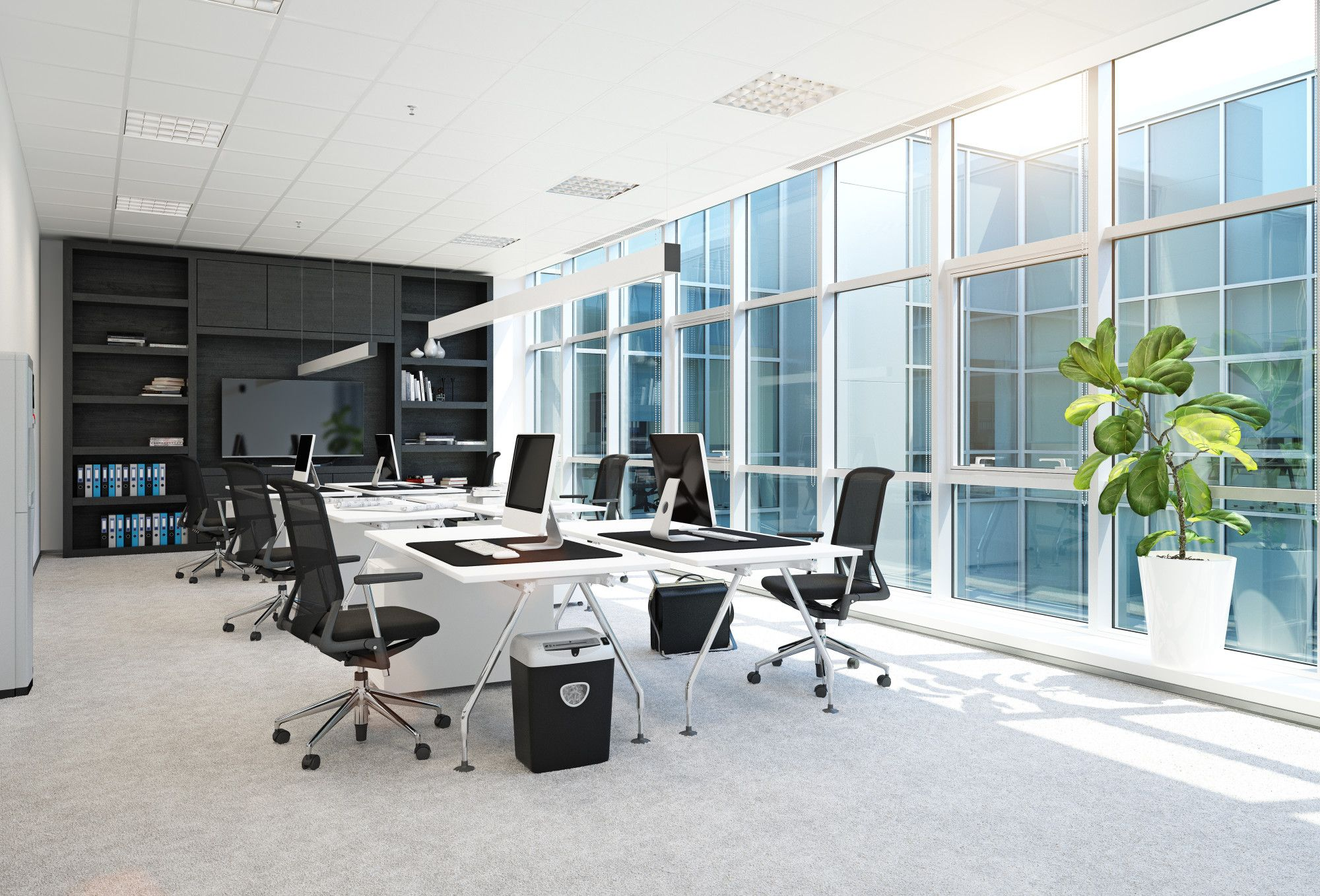 Office Space Layout Ideas To Keep You Productive Modern Office Interiors Cool Office Space Office Space