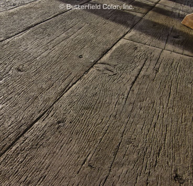 Wood Plank Concrete Stamp Plank Concrete Stamp For The Home