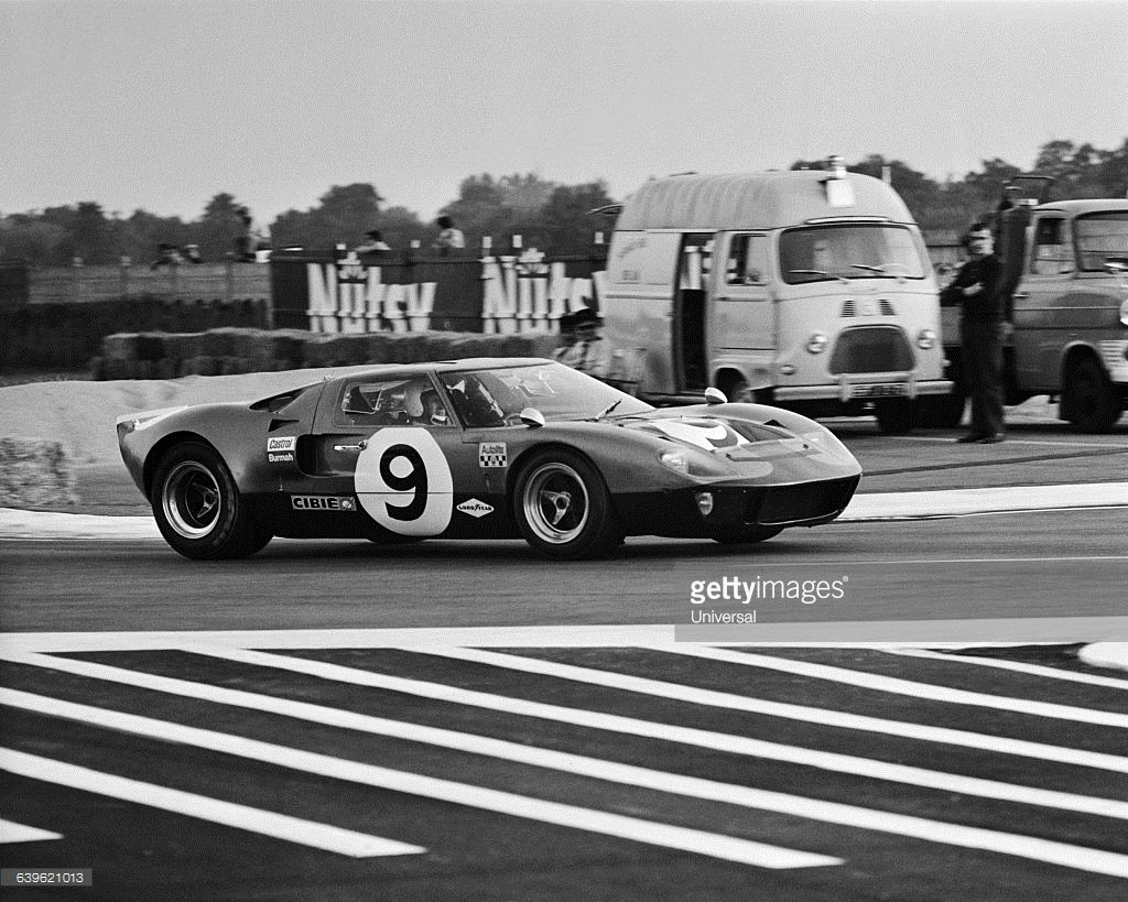 Winner Of The 1968 24 Hours Of Le Mans The Ford Gt 40 Driven By