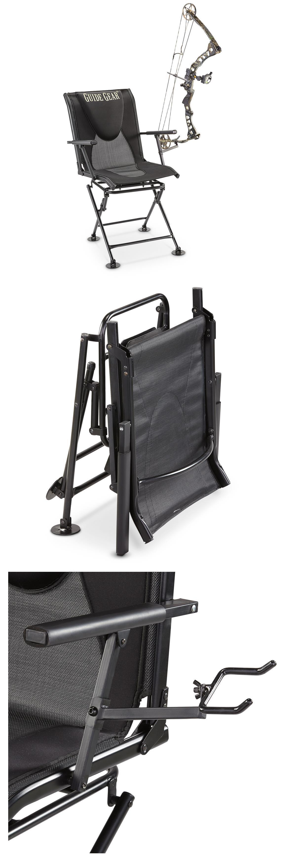 Seats and Chairs Swivel Hunting Blind Chair 360º Ground
