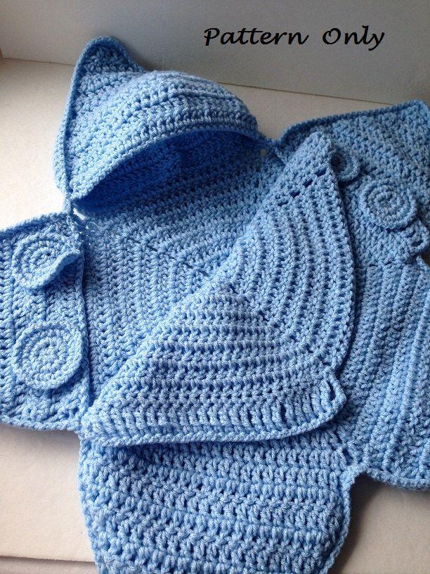 Pattern - Crochet Baby Star Bunting Pattern - Baby Bag Bunting ...
