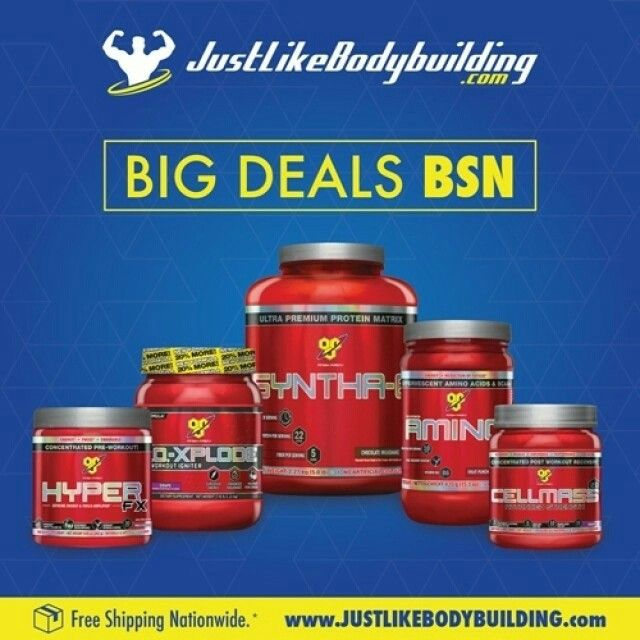 Come check out the Great BSN Deals  #Bodybuilding #bodybuildingmotivation #bodybuildinglifestyle #bodybuilding_motivation #bodybuildinglife #bodybuildinginspiration #bodybuildingforlife #supplement #supplements #supplementation #supplementstore #sale #health #gymlife #gymmotivation #training #traininghard #trainingday #trainhard #fitness #JLBB #JustLikeBodybuilding