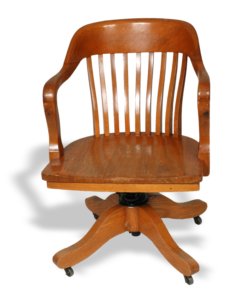 Early Century Office Chair Made By Abernathy