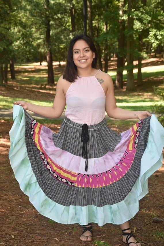 d4eafd3e8 Gypsy Skirt, Bohemian Skirt, Hippie Skirt, Tribal Skirt, Ethnic ...
