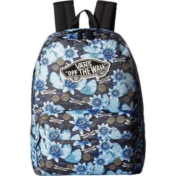 665b195236 Vans Realm Backpack (Dragon Floral) Backpack Bags ( 31) ❤ liked on Polyvore  featuring bags