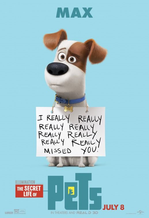 Click to View Extra Large Poster Image for The Secret Life of Pets - pet poster