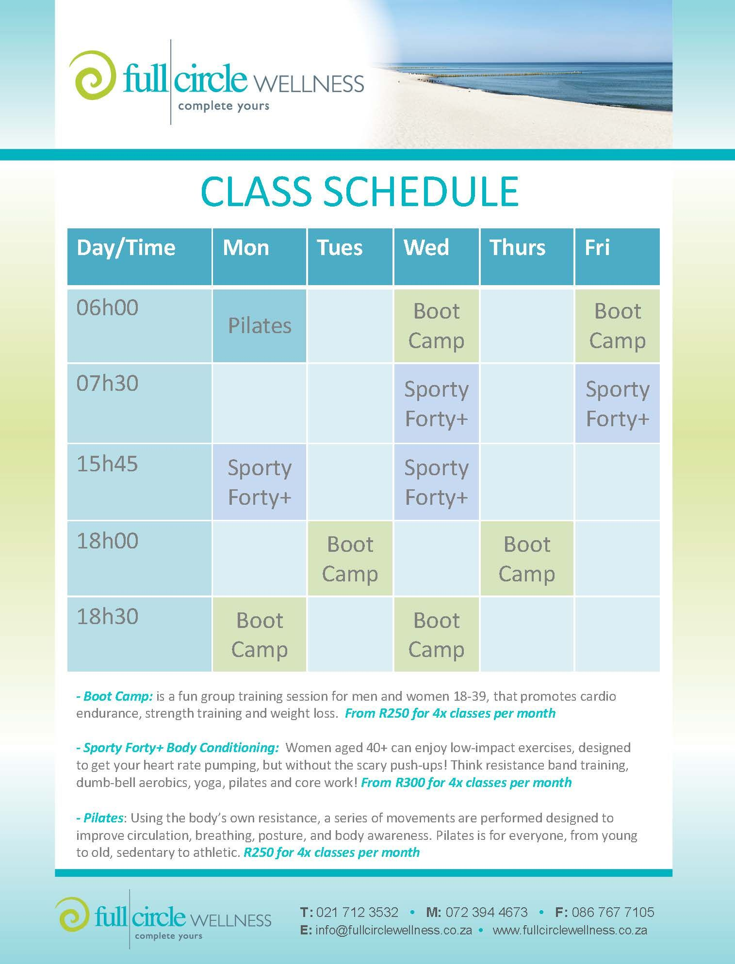 Your first group fitness class is FREE! Come join us!