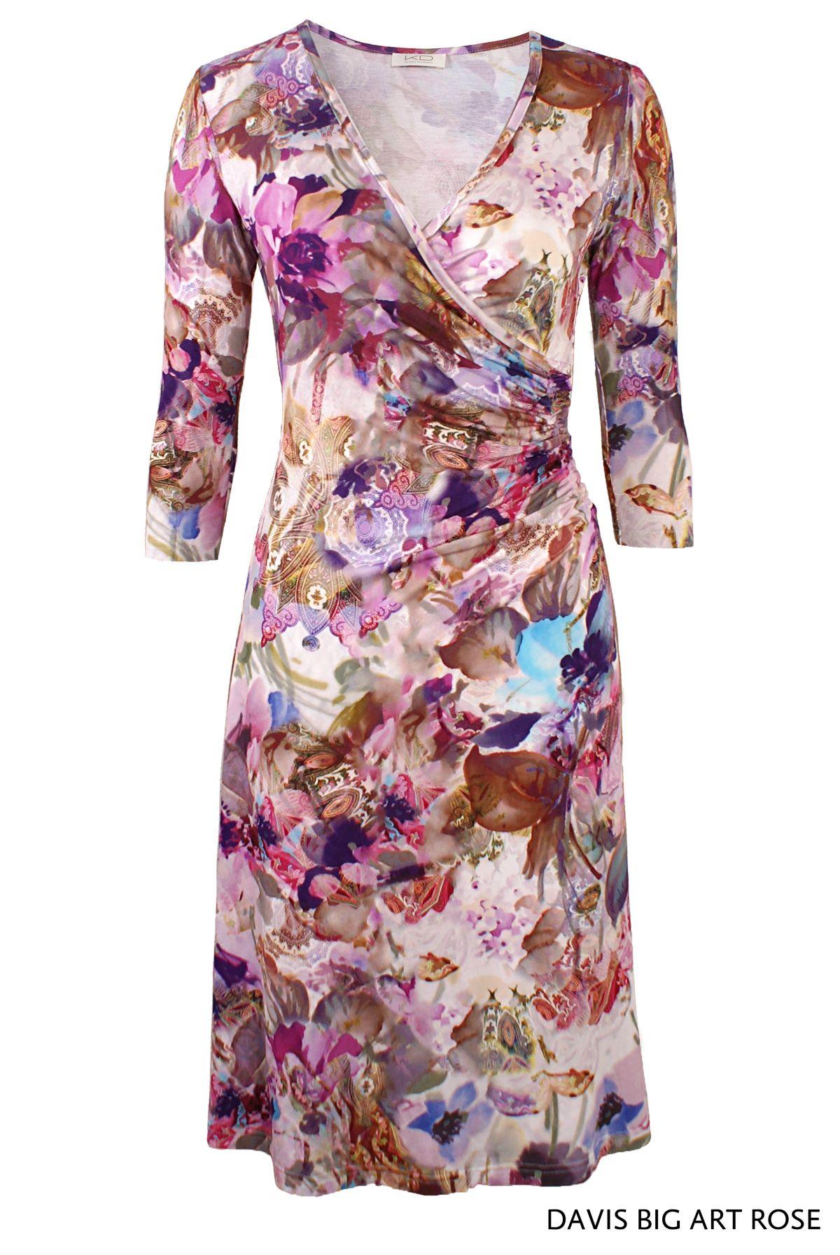 Davis Big Art Rose von KD Klaus Dilkrath #davis #dress #big #art ...