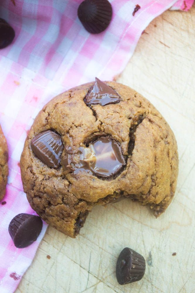 The Ultimate Peanut Butter Cup Lovers Dream Cookie