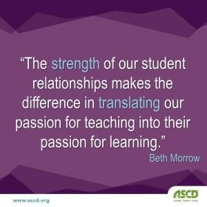 teacher and learners relationship marketing