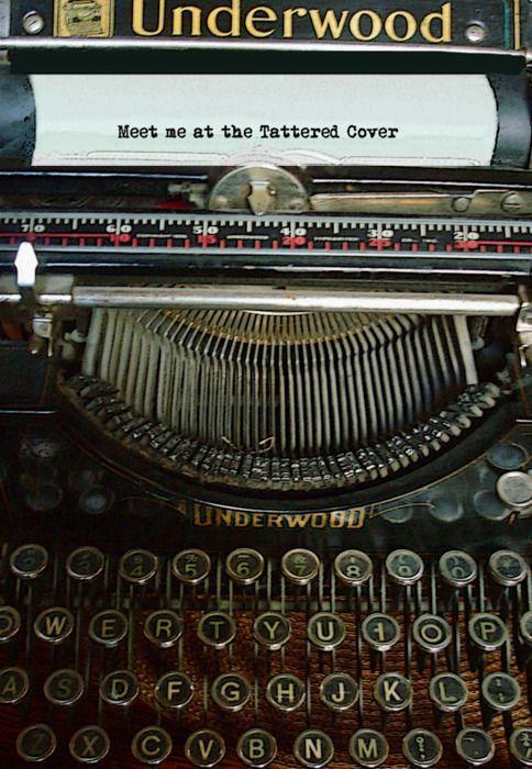 Pin By Marty Robbins On Love My High School University Days Typewriter Vintage Typewriters Underwood Typewriter