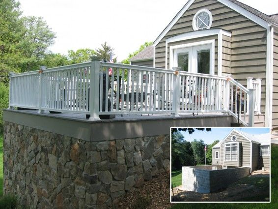Peapack And Gladstone Nj Raised Deck Parker Homescape