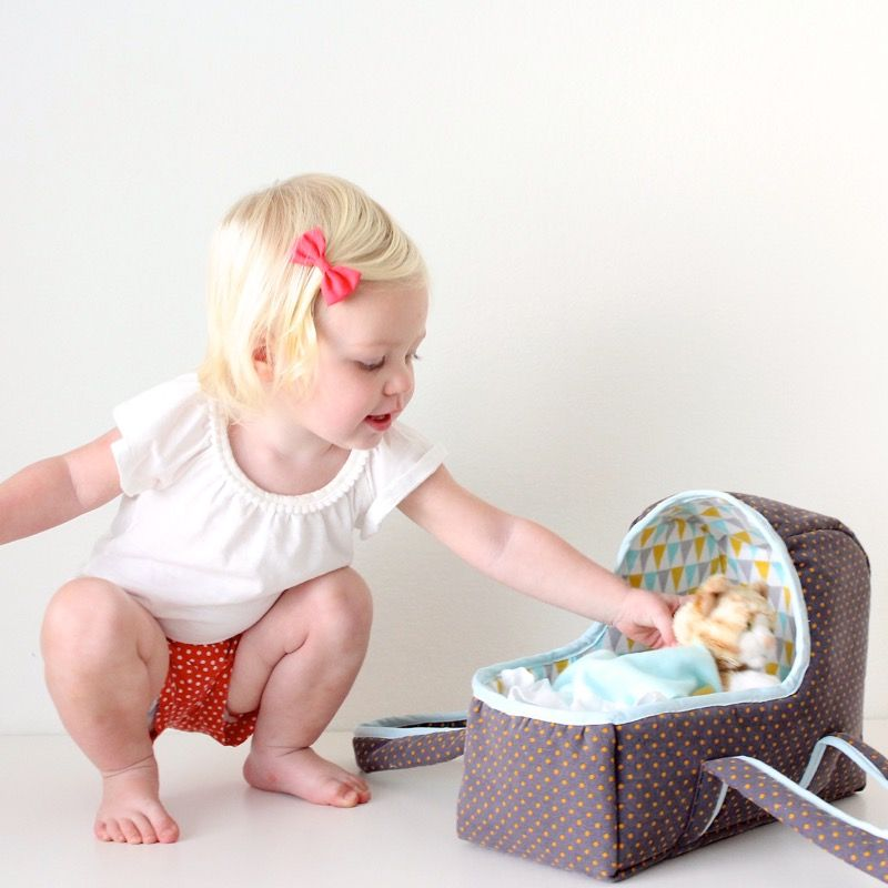 Baby Doll Basket | Sew for baby | Pinterest | Baby dolls, Dolls and ...