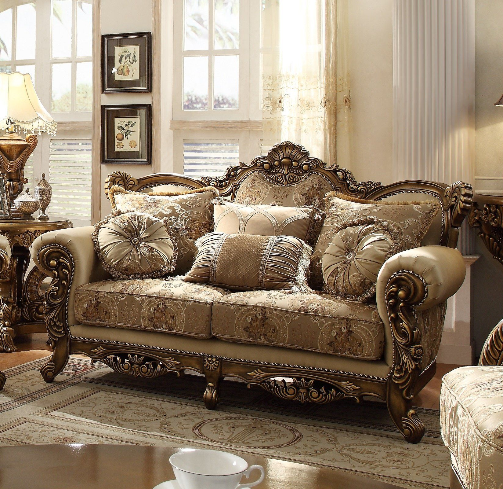 Hd 506 Living Room Collectionloveseat In 2021 Queen Anne Living Room Furniture Classy Living Room Furniture Homey Living Room