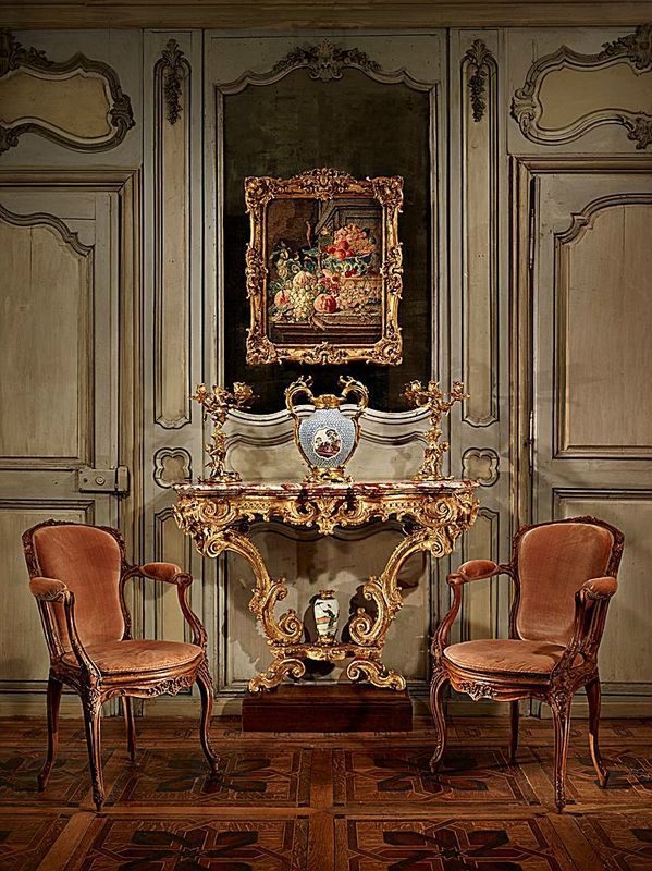 Console by the Bâtiments du Roi (The King\u0027s official builders and