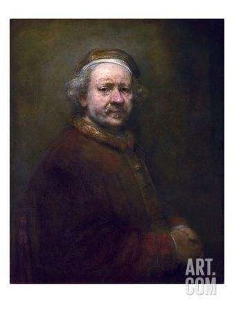 Self Portrait at the Age of 63 Giclee Print by Rembrandt van Rijn at Art.com