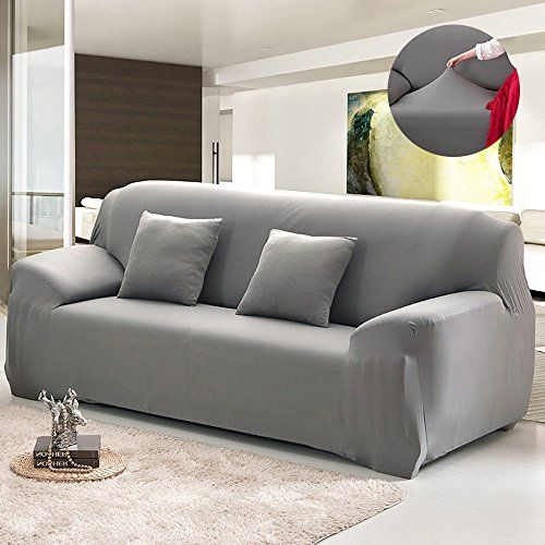 Amazon Com H Versailtex Stretch Sofa Covers Couch Cover Furniture Protector Sofa Slipcover 1 Piece Feature High Spandex Textured Lycra Small Ch