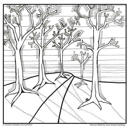 PDF DOWNLOAD Dreamlands Coloring Pages by AnnieSwarmArt on Etsy