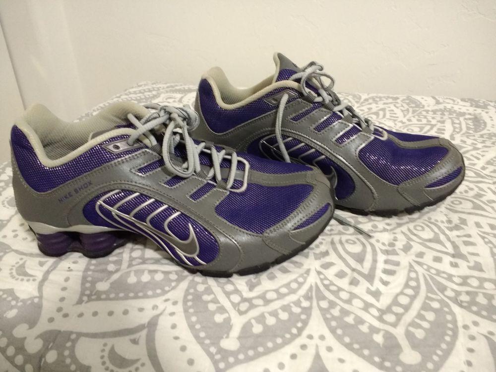 766ea5cde6e Nike Shox Navina purple sparkle  fashion  clothing  shoes  accessories   womensshoes