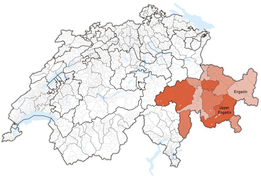 Family Holiday In Engadin Switzerland Map Of Switzerland Vaud