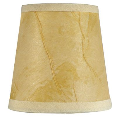 Cream Parchment Paper Lampshade Clip On Paper Lampshade Lamp Shades Lamp