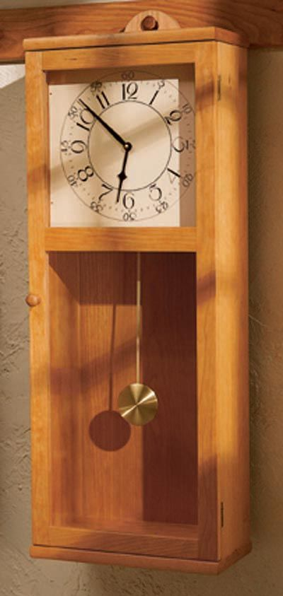 Simply Stated Shaker Style Clock Build Stuff Pinterest