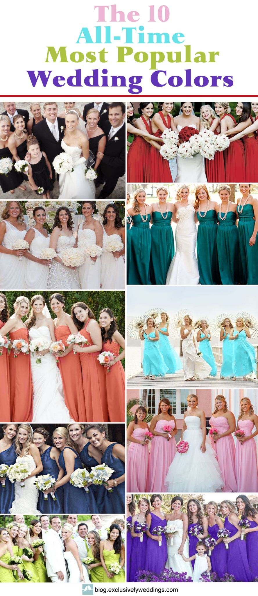 e40140176788 The 10 All-Time Most Popular Wedding Colors | Wedding Planning ...