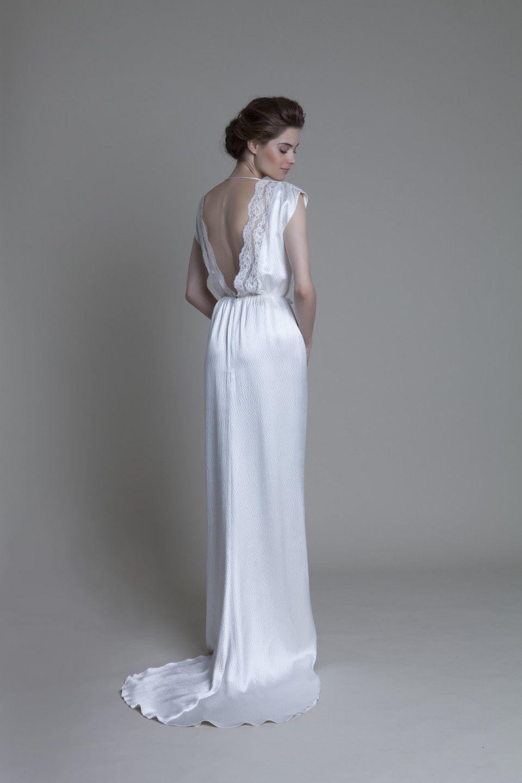 HENNIE BACK IMG_2518 | Vintage Wedding Gowns | Pinterest | Backless ...